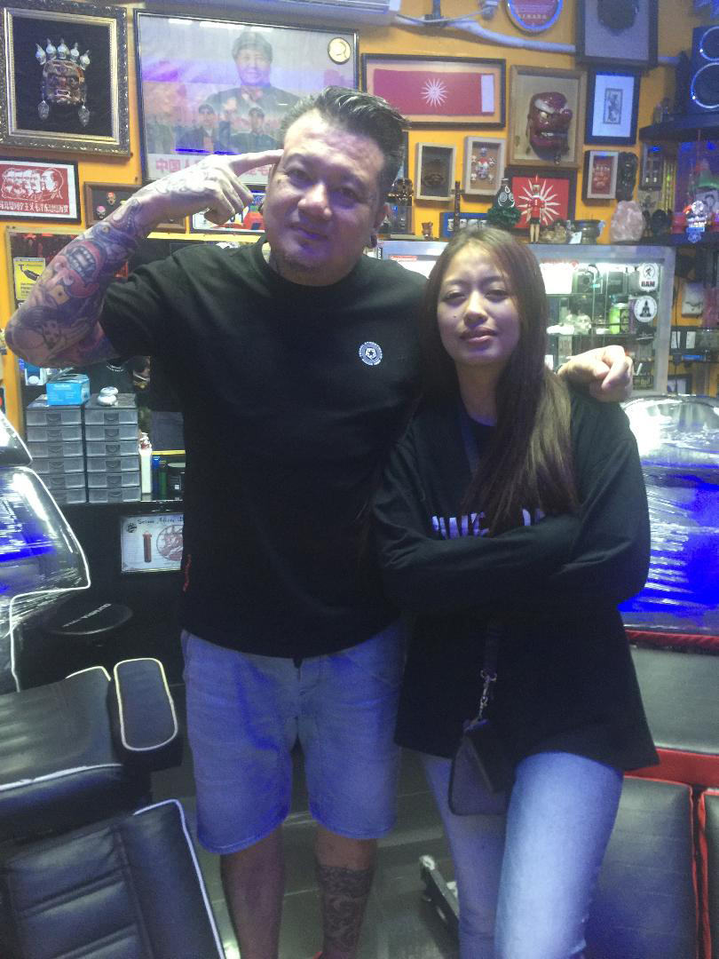 "Philtag President Ricky Sta. Ana supports Daenee Bartolome, the first Filipina tattoo artist to join the Vancouver Tattoo and Culture Show on April 20 to 22. Sta. Ana will join Bartolome in the event and also to visit Fil-Canadian tattoo guru Mayo Landicho's Painting Collection Auction and Tattoo Exhibit on March 24.      ""We are proud to join this prestigious event and become part of a big gathering of tattoo masters and enthusiast from all over the world. We will make the Filipinos in Canada and the Philippines proud,"" said Sta. Ana, who named Bartolome an honorary Philtag member"