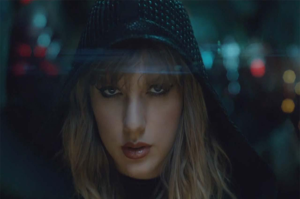 Taylor Swift Fights Her Nearly-Naked Robot Clone in Futuristic Music Video for '…Ready For It?'