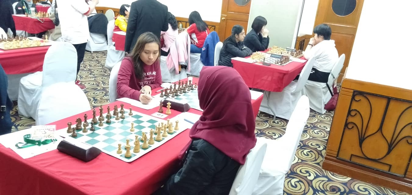 Woman FIDE Master Allaney Jia G. Doroy - Photo credit to Genghis Katipunan Imperial