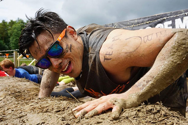 Tough Mudder Philippines Brand Ambassador Xian Lim, gets to try out Tough Mudder in Scotland