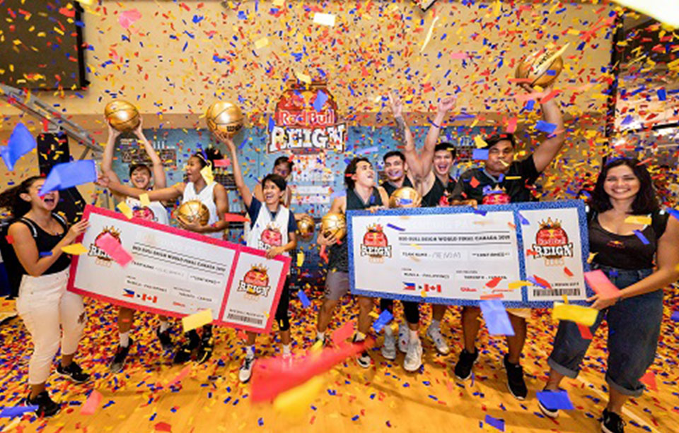 Phenom and Team Gilas Women's Crowned Red Bull Reign Philippine Champions