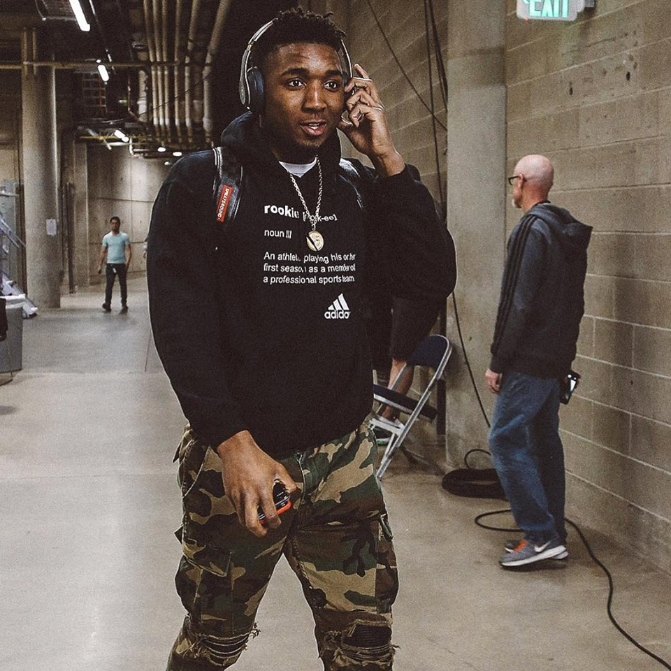 Has Rookie Donovan Hoodie Mitchell's Literal Definition To Of A nvN0yOwm8