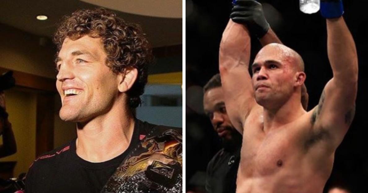 Ben Askren vs  Robbie Lawler being finalized for UFC 233 in