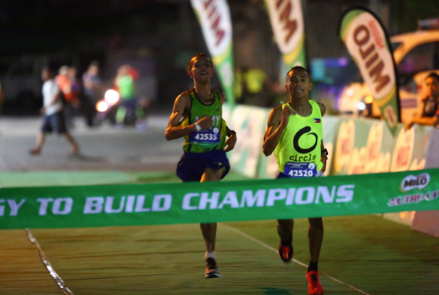 Jerald Zabala outruns the competition and emerges as this year's National MILO Marathon King